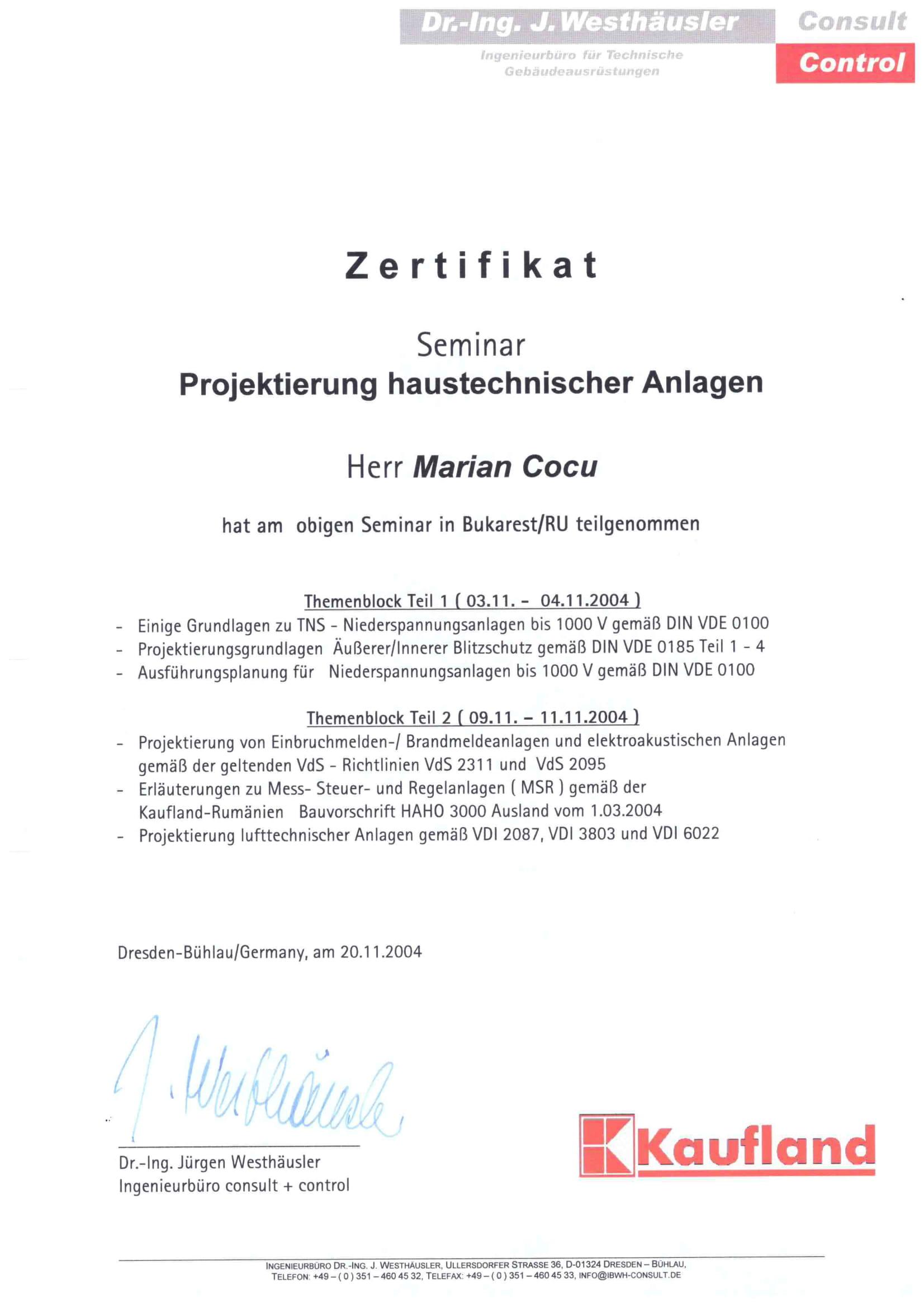 Certificat seminar Germania_COCU MARIAN